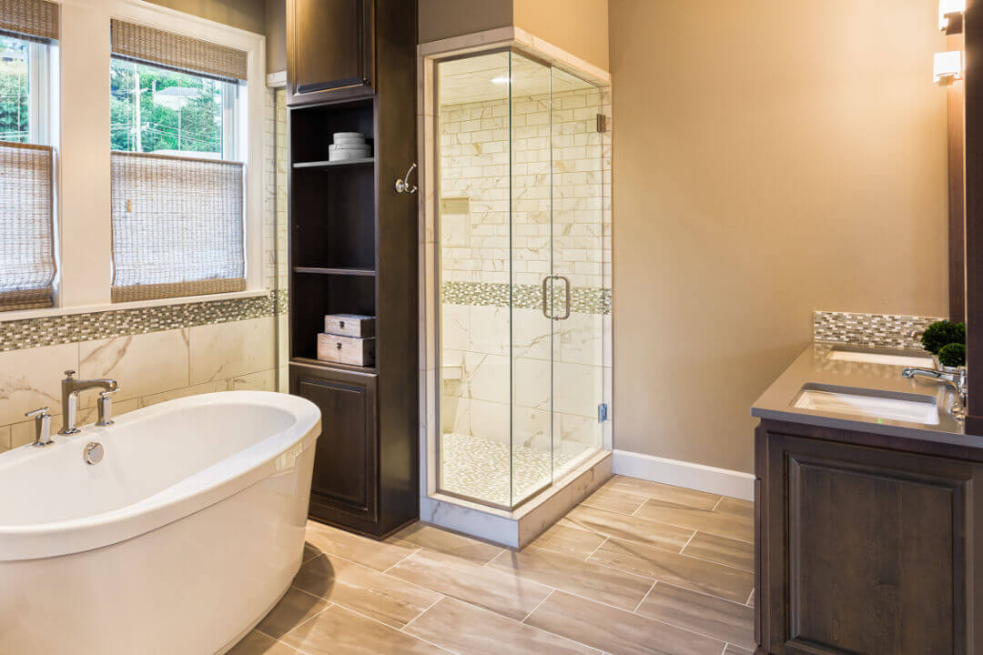 Completed Bathroom Remodel-Talmich Plumbing & Heating Colorado Springs