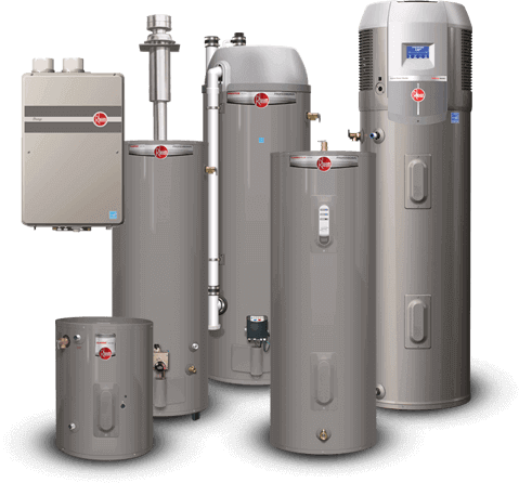 New Water Heater Installation Rheem-Talmich Plumbing & Heating Colorado Springs