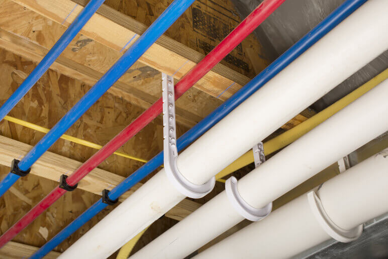 Plumbing Supply Line & Drain Pipes-Talmich Plumbing & Heating Colorado Springs
